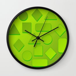 0807 Play with gradient and forms 3 ... Wall Clock