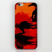 django iPhone & iPod Skins featuring Django by IOSQ