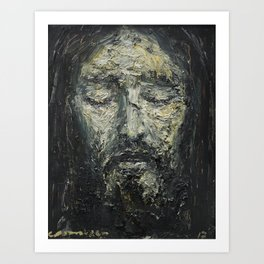 Holy Face of Our Lord Jesus Christ Art Print