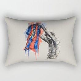 Messi celebration Rectangular Pillow