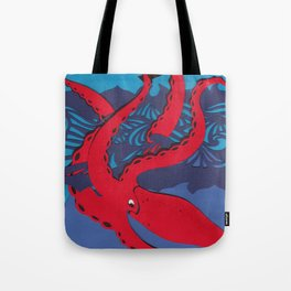 The Kraken Tote Bag