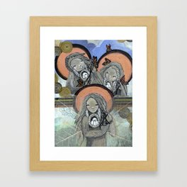 Return of the Medicine Women Framed Art Print