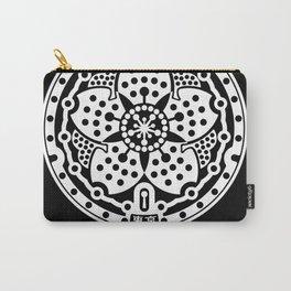 Tokyo Sakura Manhole Cover Carry-All Pouch