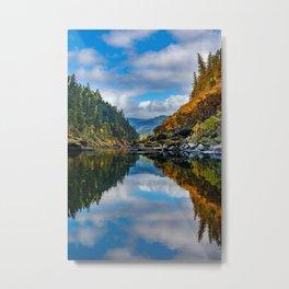 Rogue River Reflections Metal Print