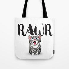 Little Pal, Big Roar Tote Bag