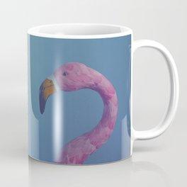 Pink flame in dreamy blue Coffee Mug