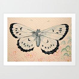 Le Papillon Art Print