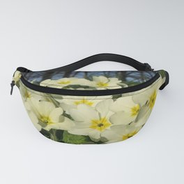 PRIMROSES THOUGHTS OF SPRING Fanny Pack
