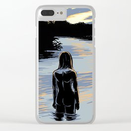 The Sunrise Clear iPhone Case