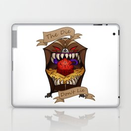 Truthful Dice Laptop & iPad Skin
