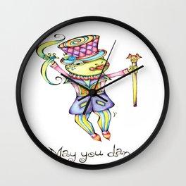May You Dance Wall Clock