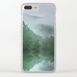 NC Foggy Morning Clear iPhone Case