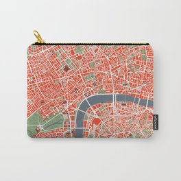 London city map classic Carry-All Pouch