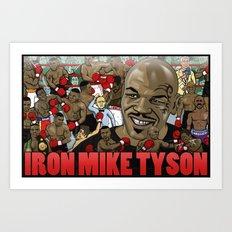Mike Tyson Art Print