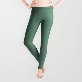 Inherent Dark Green Slate Solid Color Pairs To Sherwin Williams Grandview SW 6466 Leggings