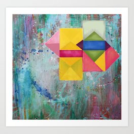 geometric dreams Art Print