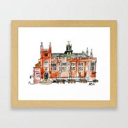 Middle Temple Hall Framed Art Print
