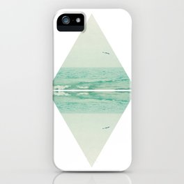 Parallel Waves iPhone Case