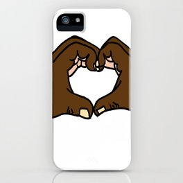 Heart Hands iPhone Case
