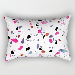 Autumnal Terrazzo Rectangular Pillow