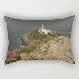 South Stack Lighthouse Rectangular Pillow