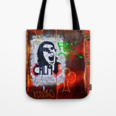 Back Alley Street Art Tote Bag