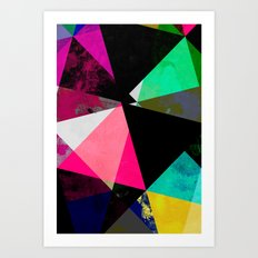 Abstract 01 Art Print