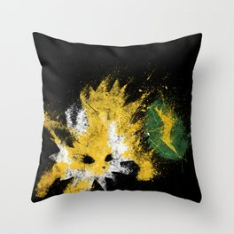 Thunder Stone Throw Pillow