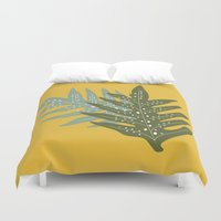 fern Duvet Covers featuring Fern by CaptainChrisP