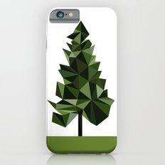 Poly geometric trees Slim Case iPhone 6s
