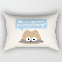 Missing Person Rectangular Pillow