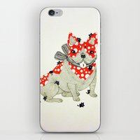 frenchie iPhone & iPod Skins featuring Frenchie. by ruffgaws