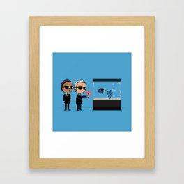 Remember to forget Framed Art Print