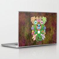 monster Laptop & iPad Skins featuring Monster by HOOKEEAK