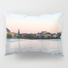 Clear & Blurry Lake Pillow Sham