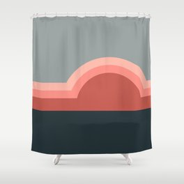 Sunseeker 10 Landscape Shower Curtain