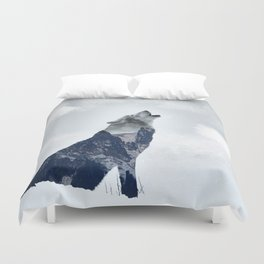 Wolf. Into the Wilderness Duvet Cover