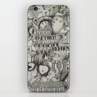 uncharted iPhone & iPod Skins featuring Uncharted Actuality by Lamb