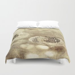 Crumbling Beach Duvet Cover