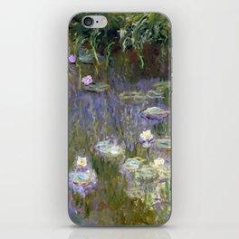 "Claude Monet ""Water lilies""(2) iPhone Skin"