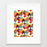 paper Framed Art Prints featuring Pass this On by Danny Ivan