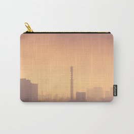 Smog filled Shinjuku Tokyo, Japan skyline Carry-All Pouch