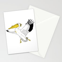 Petra the Pelican Stationery Cards