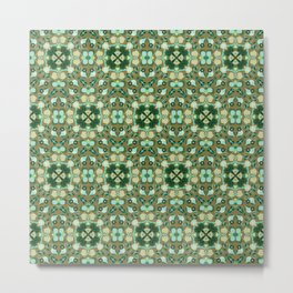 Abstract flower 8c Metal Print