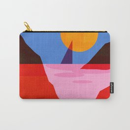 Abstraction_MOONLIGHT_Sailing_Minimalism_001 Carry-All Pouch