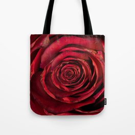 Red Rose Inception Tote Bag