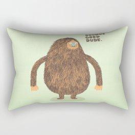 Sounds Good Dude Rectangular Pillow