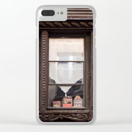 House-ception Clear iPhone Case