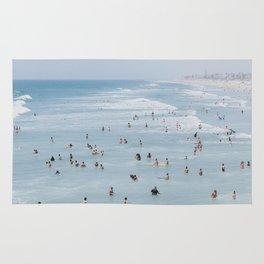 beach vibes xv / california Rug