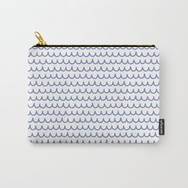waves (21) Carry-All Pouch